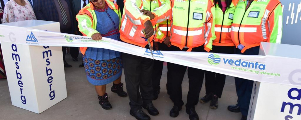Address by President Cyril Ramaphosa at the official opening of the Vedanta Gamsberg Mine, Aggeneys, Northern Cape
