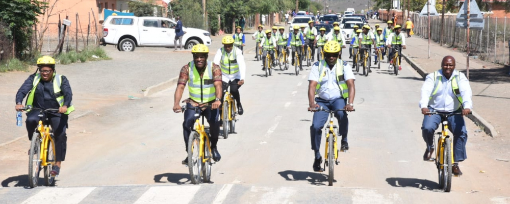 Shova Kalula Bicycle Hand Over