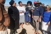MEC Nontobeka Vilakazi & Local Mayor meets with the Family of Vanessa Barends (33) in Prieska.