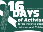 16 days of activism against women and children abuse