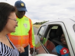 The Launch of the Easter road safety Campaign (Arrive Alive) held at the N12 Weighbridge, Kimberley on Monday the 10 April 2017