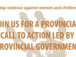 A Provincial Call to Action Led by Provincial Government