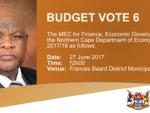 Budget Vote 6