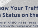 Know Your Traffic Fine Status Campaign