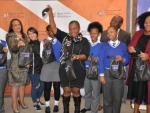 Empowering young women and uplifting their dignity through Girls on the Go Campaign