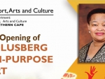 Department of Arts and Culture : Official Opening and Handover of Multi Purpose Sport Facility in Carolusberg Nama Khoi Municipality