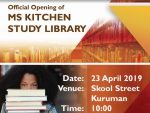 Invite to the Opening of the M S Kitchen Library in Kuruman