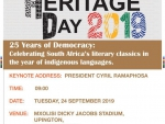 National Heritage Day 2019 Advert