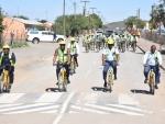 Shova Kalula Bicycle Hand Over