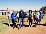 Distribution of 2000 Food Parcels and Assessment of the Tsantsabane Hospital and its Readiness for the COVID - 19