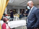 Premier Dr Zamani Saul, Visits the Manne Dipico Hospital in Colesburg