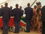 Funeral of the Late Khoisan Leader, Dawid Kruiper