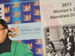 Premier of the Northern Cape, Ms Sylvia Lucas At The Namakwaland Women's Day Celebrations